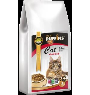 Puffins CAT Sterilized...